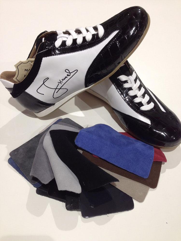 calzatura uomno personalizzata